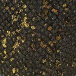 61 schwarz/gold flecken