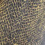 260 - schwarz/gold Schuppe