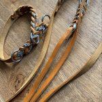 Fischleder am Halsband