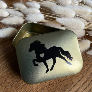 Melasól Seifendose gold Tölteraufdruck