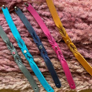 MELASÓL Armbänder aus Fettleder