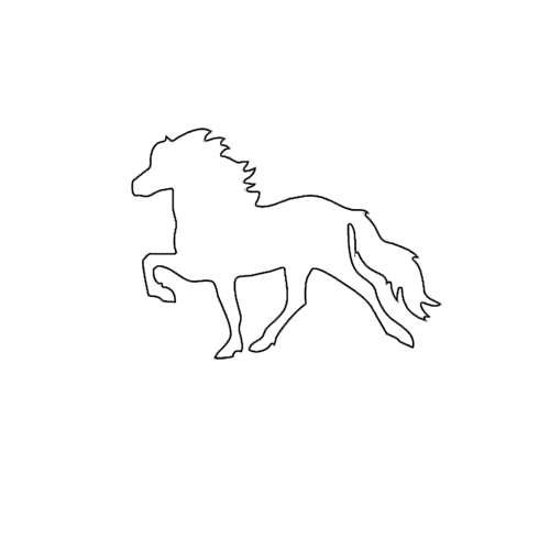 MELASÓL Prägung Töltermotiv