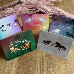 Equisigned Geschenkkarten alle Motive Tölter & Weihnachten Melasól
